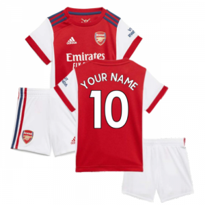 Arsenal 2021-2022 Home Baby Kit