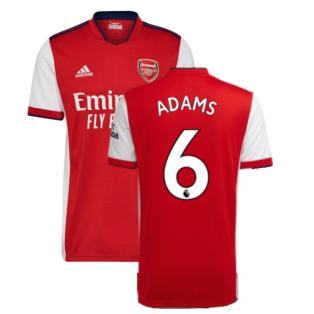Arsenal 2021-2022 Home Shirt (ADAMS 6)