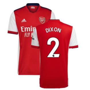 Arsenal 2021-2022 Home Shirt (DIXON 2)