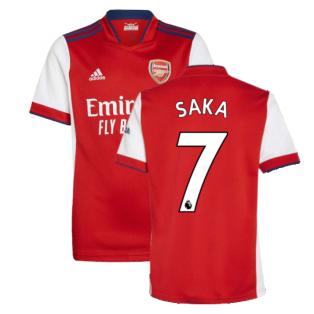 Arsenal 2021-2022 Home Shirt (Kids) (SAKA 7)