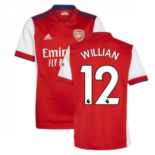 Arsenal 2021-2022 Home Shirt (Kids) (WILLIAN 12)