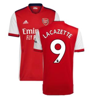 Arsenal 2021-2022 Home Shirt (LACAZETTE 9)