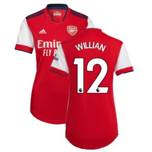 Arsenal 2021-2022 Home Shirt (Ladies) (WILLIAN 12)