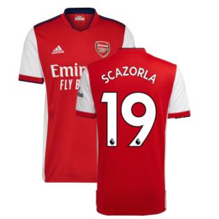 Arsenal 2021-2022 Home Shirt (S CAZORLA 19)