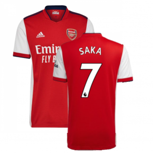Arsenal 2021-2022 Home Shirt (SAKA 7)