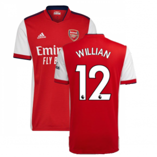 Arsenal 2021-2022 Home Shirt (WILLIAN 12)