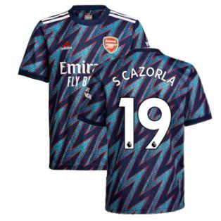 Arsenal 2021-2022 Third Shirt (Kids) (S CAZORLA 19)