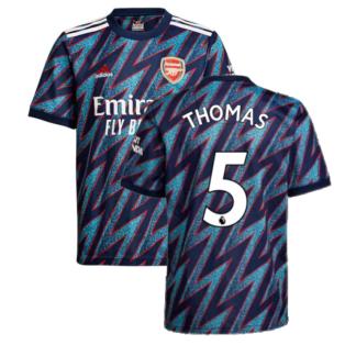 Arsenal 2021-2022 Third Shirt (Kids) (Thomas 5)