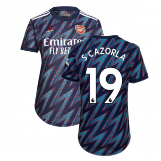 Arsenal 2021-2022 Third Shirt (Ladies) (S CAZORLA 19)