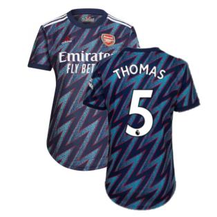 Arsenal 2021-2022 Third Shirt (Ladies) (Thomas 5)