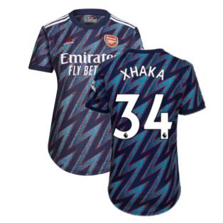 Arsenal 2021-2022 Third Shirt (Ladies) (XHAKA 34)