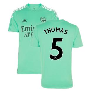 Arsenal 2021-2022 Training Shirt (Acid Mint) (Thomas 5)