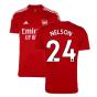 Arsenal 2021-2022 Training Shirt (Active Maroon) - Kids (NELSON 24)