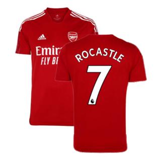 Arsenal 2021-2022 Training Shirt (Active Maroon) - Kids (ROCASTLE 7)