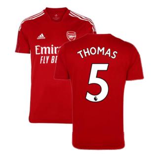 Arsenal 2021-2022 Training Shirt (Active Maroon) - Kids (Thomas 5)