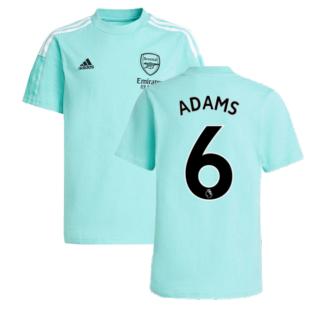 Arsenal 2021-2022 Training Tee (Acid Mint) (ADAMS 6)