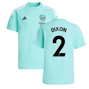 Arsenal 2021-2022 Training Tee (Acid Mint) (DIXON 2)