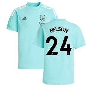 Arsenal 2021-2022 Training Tee (Acid Mint) (NELSON 24)