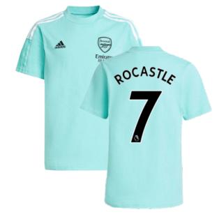Arsenal 2021-2022 Training Tee (Acid Mint) (ROCASTLE 7)