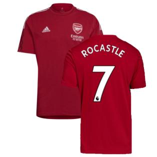 Arsenal 2021-2022 Training Tee (Active Maroon) (ROCASTLE 7)