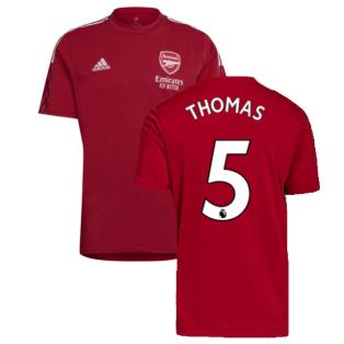 Arsenal 2021-2022 Training Tee (Active Maroon) (Thomas 5)