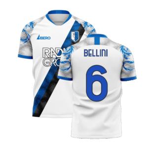 Atalanta 2020-2021 Away Concept Football Kit (Libero) (BELLINI 6)