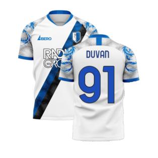 Atalanta 2020-2021 Away Concept Football Kit (Libero) (DUVAN 91)