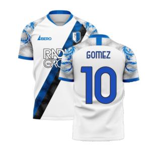 Atalanta 2020-2021 Away Concept Football Kit (Libero) (GOMEZ 10)