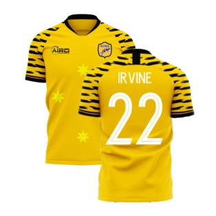 Australia 2020-2021 Home Concept Football Kit (Libero) (IRVINE 22)