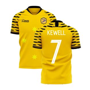 Australia 2020-2021 Home Concept Football Kit (Libero) (KEWELL 7)