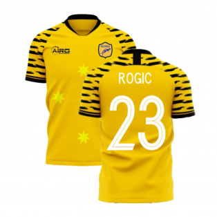 Australia 2020-2021 Home Concept Football Kit (Libero) (ROGIC 23)