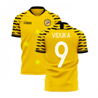 Australia 2020-2021 Home Concept Football Kit (Libero) (VIDUKA 9)