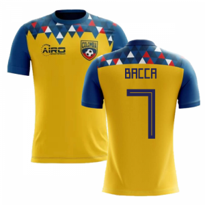 2020-2021 Colombia Concept Football Shirt (Bacca 7)