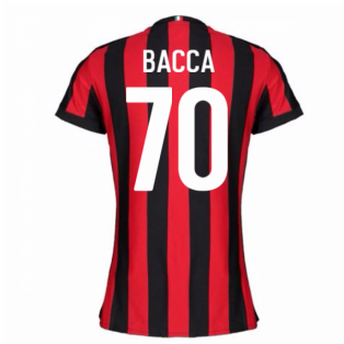 2017-2018 AC Milan Womens Home Shirt (Bacca 70)