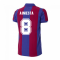 Barcelona 1980-1981 Retro Football Shirt (A.INIESTA 8)