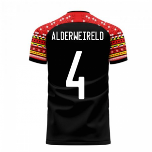 Belgium 2020-2021 Away Concept Football Kit (Libero) (ALDERWEIRELD 4)