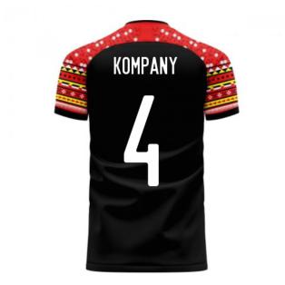 Belgium 2020-2021 Away Concept Football Kit (Libero) (KOMPANY 4)