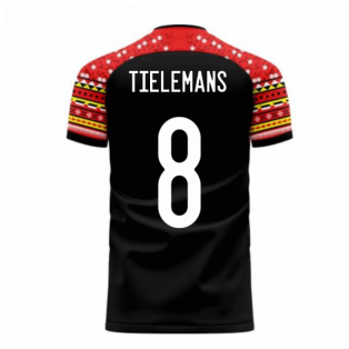 Belgium 2020-2021 Away Concept Football Kit (Libero) (TIELEMANS 8)