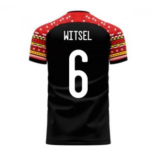 Belgium 2020-2021 Away Concept Football Kit (Libero) (WITSEL 6)