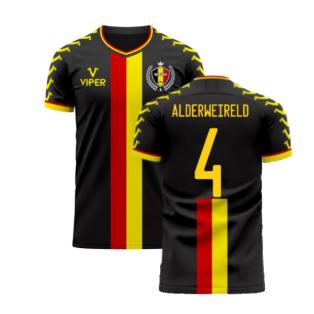 Belgium 2020-2021 Away Concept Football Kit (Viper) (ALDERWEIRELD 4)