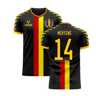 Belgium 2020-2021 Away Concept Football Kit (Viper) (MERTENS 14)