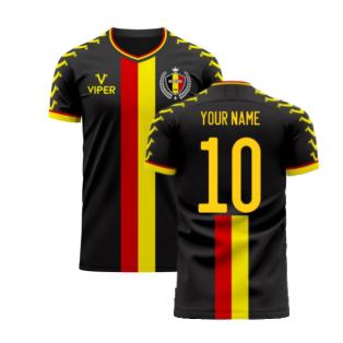 Belgium 2020-2021 Away Concept Football Kit (Viper) (Your Name)