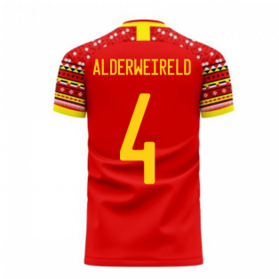 Belgium 2020-2021 Home Concept Football Kit (Libero) (ALDERWEIRELD 4)