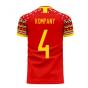 Belgium 2020-2021 Home Concept Football Kit (Libero) (KOMPANY 4)