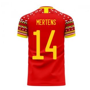 Belgium 2020-2021 Home Concept Football Kit (Libero) (MERTENS 14)