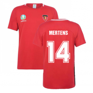 Belgium 2021 Polyester T-Shirt (Red) (MERTENS 14)