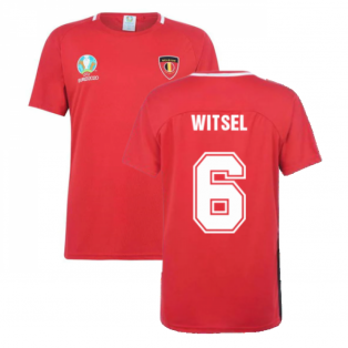 Belgium 2021 Polyester T-Shirt (Red) (WITSEL 6)