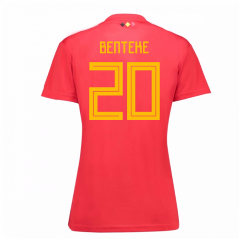 2018-19 Belgium Home Womens Shirt (Benteke 20)
