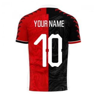 Blackburn 2020-2021 Away Concept Football Kit (Viper) (Your Name)