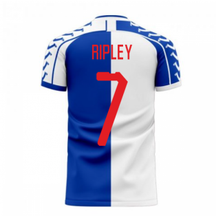 Blackburn 2020-2021 Home Concept Football Kit (Viper) (Ripley 7)